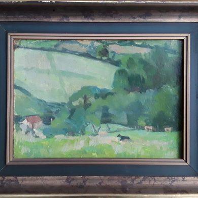 Welsh Hillside. 26x33cms £200